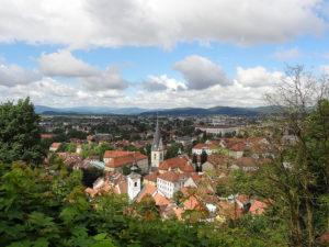 Ljubljana Sanfte Blüten auf Reisen